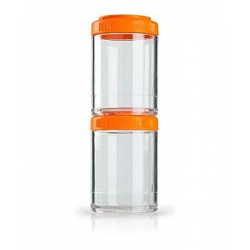 Контейнер спортивный BlenderBottle GoStak 2 Pak Orange (ORIGINAL)