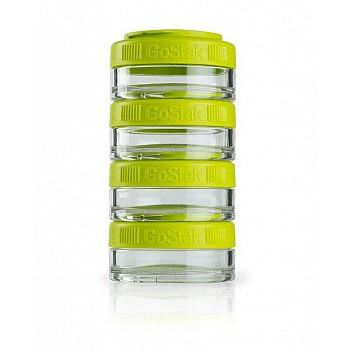Контейнер спортивный BlenderBottle GoStak 4*40ml Green (ORIGINAL)
