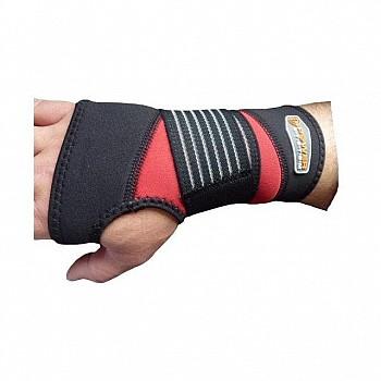 КистевыйбинтPower System Neo Wrist Support PS-6010 Black/Red - фото 2