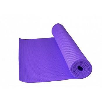 Коврик для йоги и фитнеса Power System  PS-4014 FITNESS-YOGA MAT Purple - фото 2