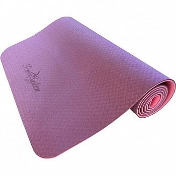 Коврик для йоги и фитнеса Power System Yoga Mat Premium PS-4060 Pink