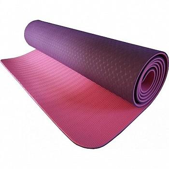 Коврик для йоги и фитнеса Power System Yoga Mat Premium PS-4060 Pink - фото 2