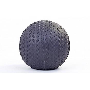 Мяч SlamBall для кросфита и фитнеса Power System PS-4115 5кг рифленый - фото 2