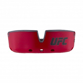 Капа OPRO Gold UFC Hologram Red Metal/Silver - фото 2