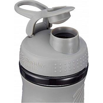 Спортивная бутылка-шейкер BlenderBottle SportMixer 590ml Grey (ORIGINAL) - фото 2