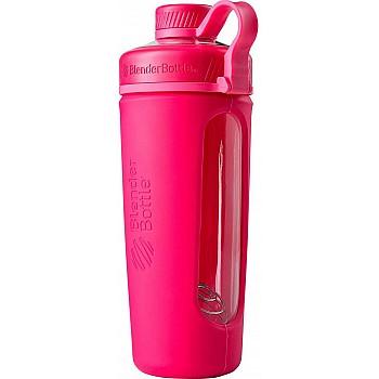 Спортивная бутылка-шейкер BlenderBottle Radian Glass Pink (скло ) 820мл (ORIGINAL) - фото 2