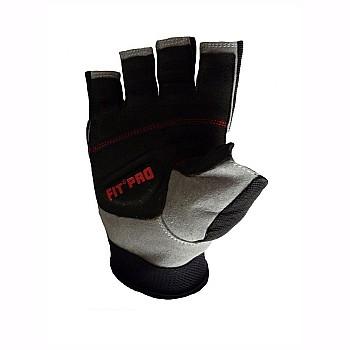 Перчатки для тяжелой атлетики Power System X1 Pro FP-01 Black XS - фото 2