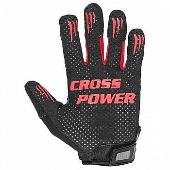 Перчатки для кроссфит с длинным пальцем Power System Cross Power PS-2860 XXL Black/Red - фото 2