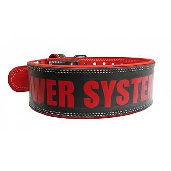 Пояс для тяжелой атлетики Power System Beast PS-3830 M Black/Red