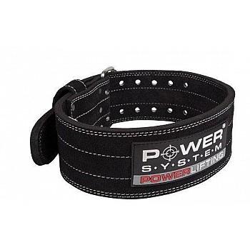 Пояс для пауэрлифтинга Power System Power Lifting PS-3800 M Black