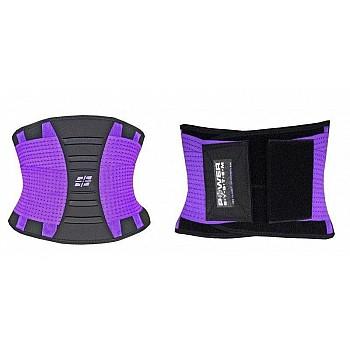 Пояс для поддержки спины Power System Waist Shaper PS-6031 S/M Purple - фото 2