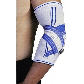 Налокотник Power System Elbow Support Pro PS-6007 L/XL Blue/White - фото 2