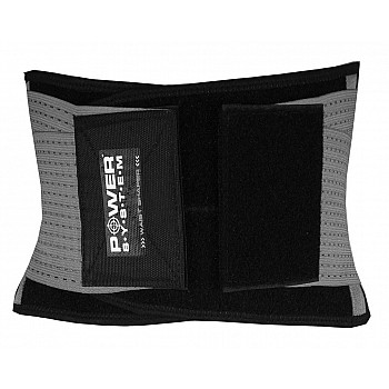 Пояс для поддержки спины Power System Waist Shaper PS-6031 Grey S/M - фото 2
