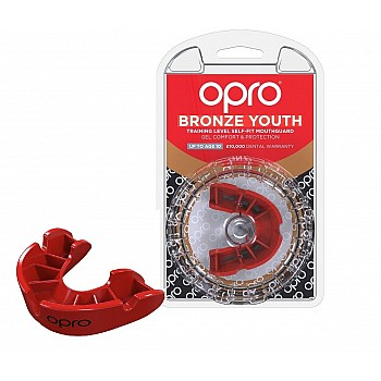 Капа OPRO Junior Bronze Red