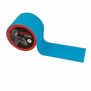 Кинезиологический тейп OPROtec Kinesiology Tape TEC57542 синий 5cм*5м