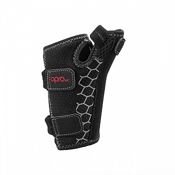 Напульсник на запястье OPROtec Wrist&Thumb Support OSFM TEC5751-OSFM Черный