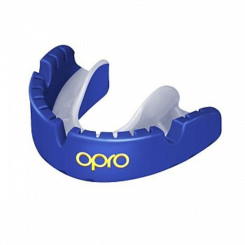 Капа OPRO Gold Braces Prl Blue/Prl - фото 2