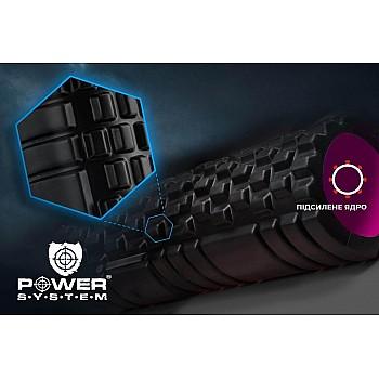 Массажный ролик Power System Fitness Foam Roller PS-4050 Pink - фото 2