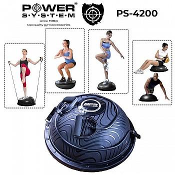 Балансировочная платформа Power System Balance Trainer Zone PS-4200 Black - фото 2