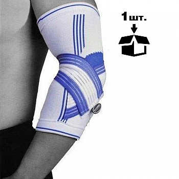 Налокотник Power System Elbow Support Pro PS-6007 S/M Blue/White