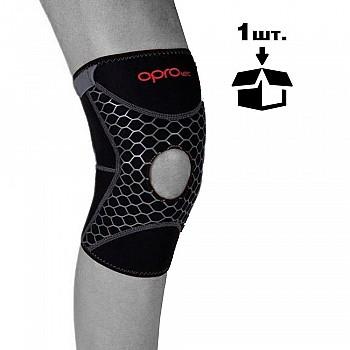 Наколенник спортивный OPROtec Knee Support with Open Patella TEC5729-XL Черный XL