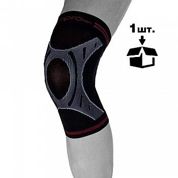 Наколенник спортивный OPROtec Knee Sleeve TEC5736-MD Черный M