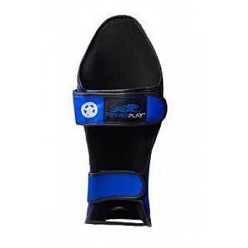 Захист гомілки і стопи PowerPlay 3032 Чорно-Синій S - фото 2