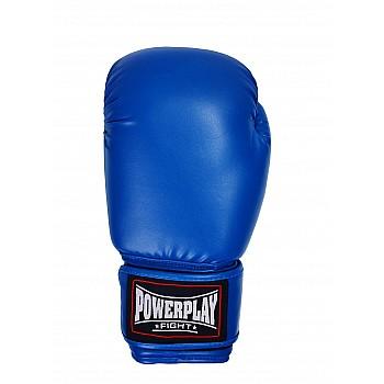 Боксерські рукавиці PowerPlay 3004 Сині 10 унцій - фото 2