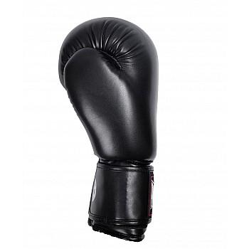 Боксерські рукавиці PowerPlay 3004 Чорні 10 унцій - фото 2