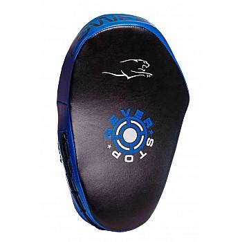 Лапи боксерські PowerPlay 3051 Чорно-Сині PU [пара] - фото 2