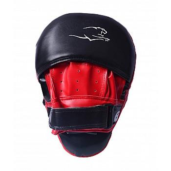 Лапи боксерські PowerPlay 3041 Чорно-Червоні PU [пара] - фото 2