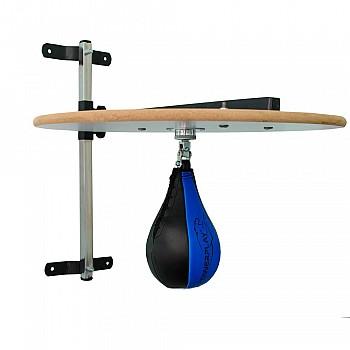 Пневмогруша боксерская PowerPlay 3061 Черно-Синяя L - фото 2
