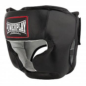 Боксерський шолом тренувальний PowerPlay 3065 Чорний S/M - фото 2
