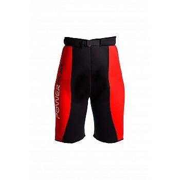 Шорти для схуднення PowerPlay 4304 Червоно-Чорні S/M