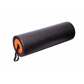 Йога ролер набір 3 в 1 PowerPlay 4022 Чорно-Оранжевий - фото 2