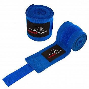 Бинты для бокса PowerPlay 3046 Синие (3м) - фото 2