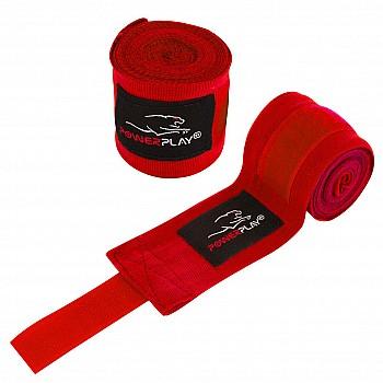 Бинти для боксу PowerPlay 3046 Червоні (2.5м) - фото 2