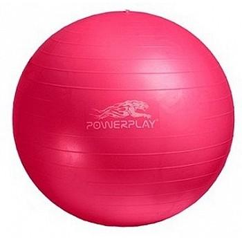 М'яч для фітнесу PowerPlay 4001 55см Розовий + насос - фото 2