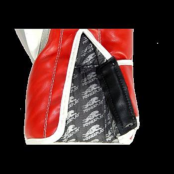 Боксерські рукавиці PowerPlay 3005 Червоні 14 унцій - фото 2