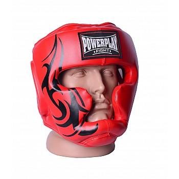 Боксерський шолом тренувальний PowerPlay 3043 Червоний L