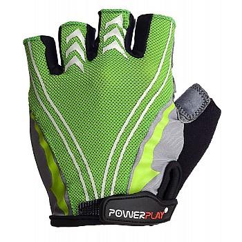 Велорукавички PowerPlay 5007 A Зелені M - фото 2