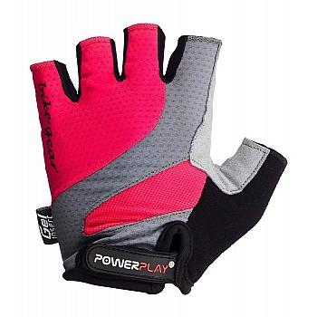 Велорукавички PowerPlay 5004 А Рожеві L - фото 2