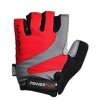 Велорукавички PowerPlay 5004 E Червоні L - фото 2