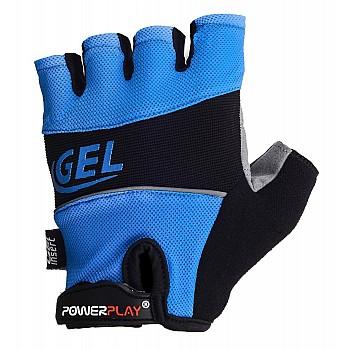 Велорукавички PowerPlay 1058 Сині S - фото 2