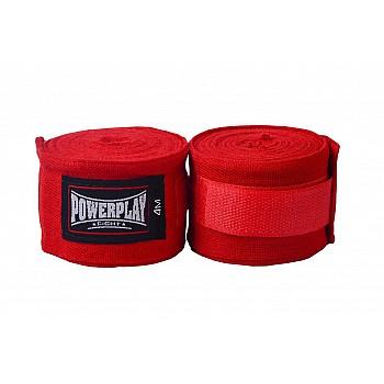 Бинти для боксу PowerPlay 3047 Червоні (4м) - фото 2
