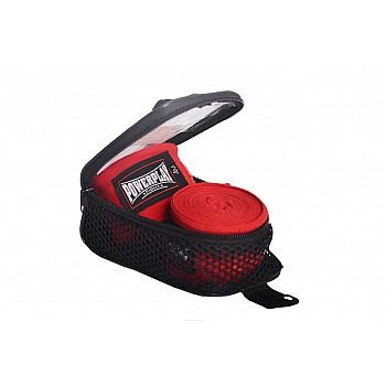 Бинти для боксу PowerPlay 3047 Червоні (4м)