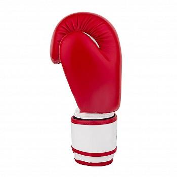 Боксерські рукавиці PowerPlay 3004 JR Червоно-Білі 6 унцій - фото 2