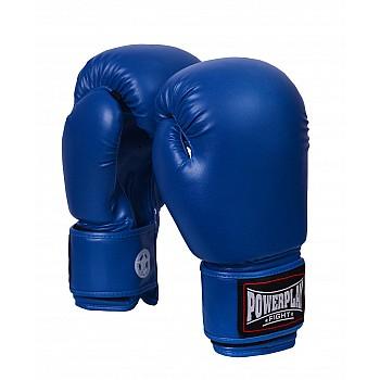 Боксерські рукавиці PowerPlay 3004 Сині 18 унцій - фото 2