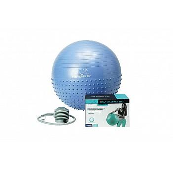 М'яч для фітнеса PowerPlay 4003 65см Синій ( пошкоджена коробка )