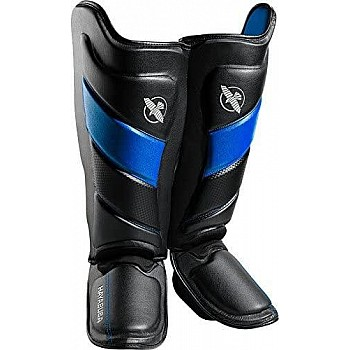 Захист гомілки і стопи Hayabusa T3 - Чорно-сині XL (Original) - фото 2